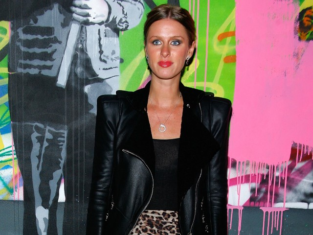 Heiress Nicky Hilton attended the after party for the L.A.M.B. show at NYC fashion week on Thursday.