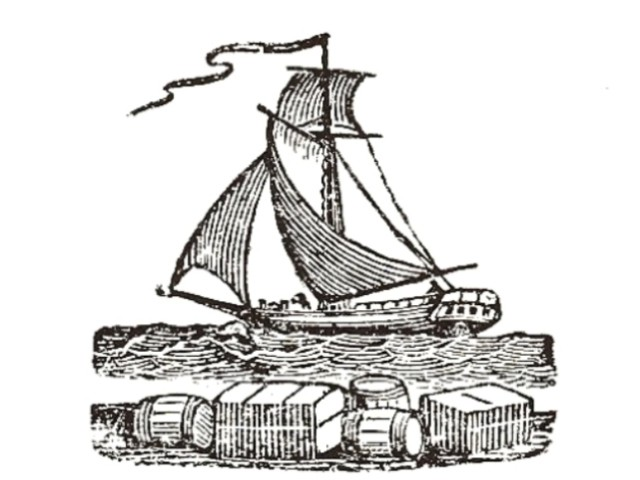 The boat may have been a sloop, like this one.