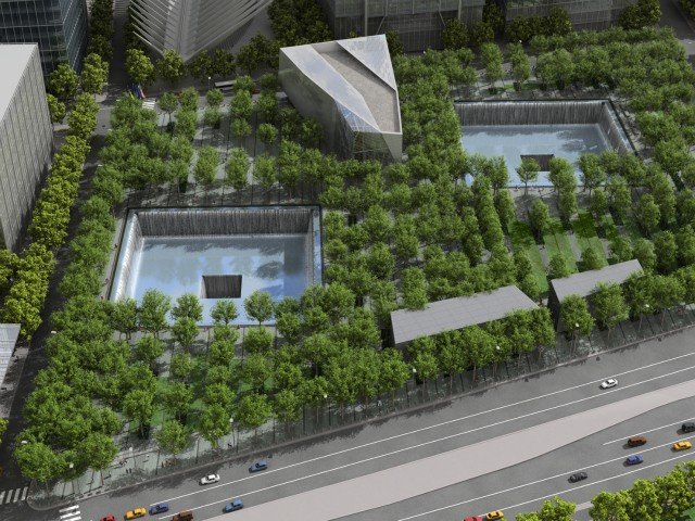 The 9/11 memorial is scheduled to open on the 10th anniversary of the attacks this fall.