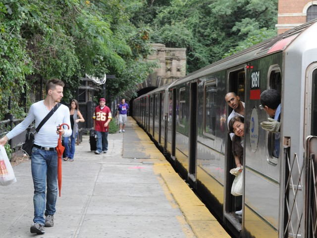 The northbound 1 train platform at Dyckman Street closes today until August 2011.