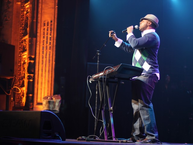 Finalist Darryl Jordan, a Harlem local who sung a ballad about how