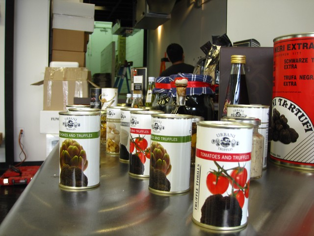 The Urbani Truffles store will sell products such as truffle-infused sauces to flavor pastas.