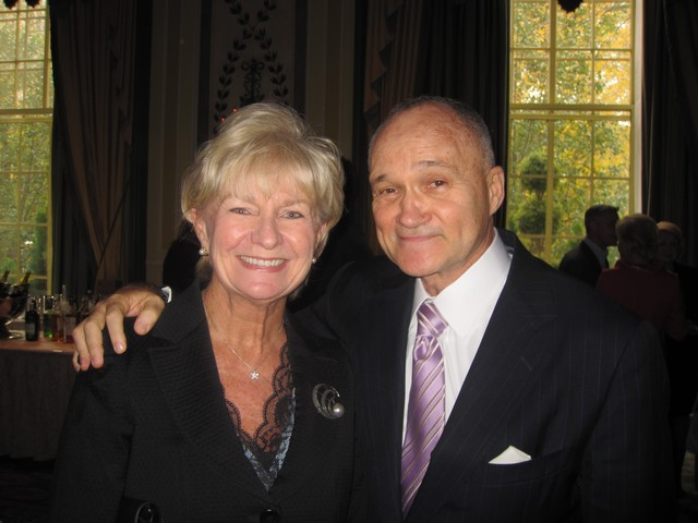 Veronica Kelly was joined by husband NYPD Commissioner Ray Kelly at the Pierre Hotel, where she was honored with a the PAL Women of the Year Award.