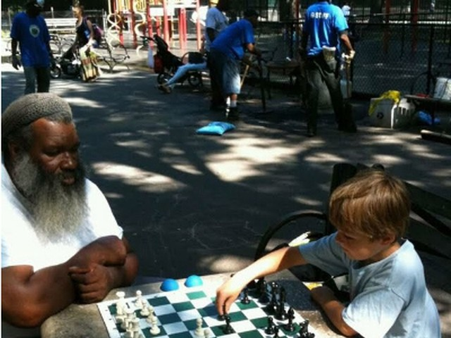 Chess Players Ticketed in Inwood