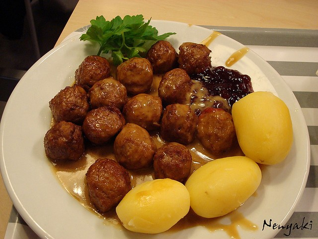 Union Pres. Stuart Appelbaum shared a recipe for Swedish meatballs.