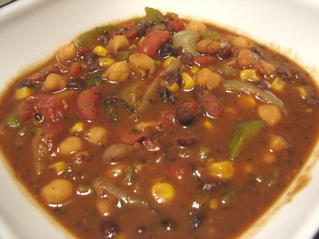 Health-conscious New Yorkers can make former New York City mayor Ed Koch's recipe for vegetarian chili.