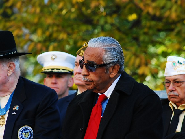 Representative Charles Rangel fought in the Korean War.