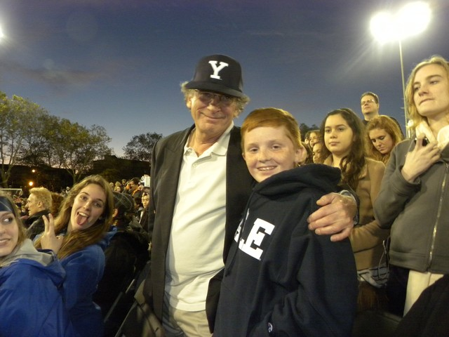 Roger Mcnamee, 12, and his dad were hoping to see Yale claim victory at the 2010 Quidditch Wolrd Cup.