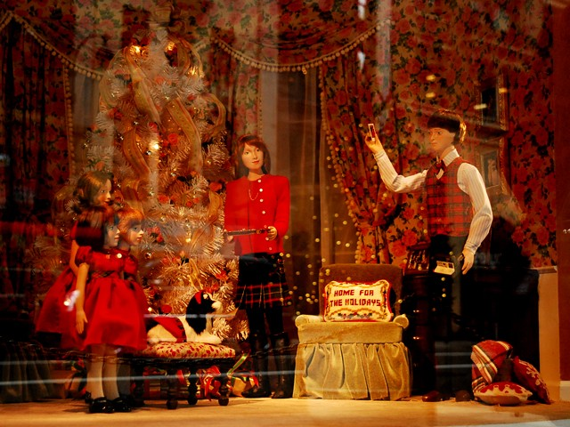 Lord & Taylor polled customers around the country on their favorite holiday memories and used them to create dollhouse scenes.