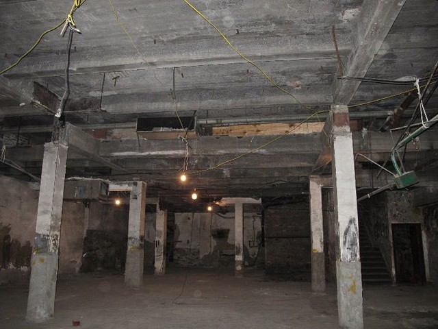 The inside of the 1933 Metro Theater on Broadway an West 99th. Local resident Michael Oliva hopes to restore it.
