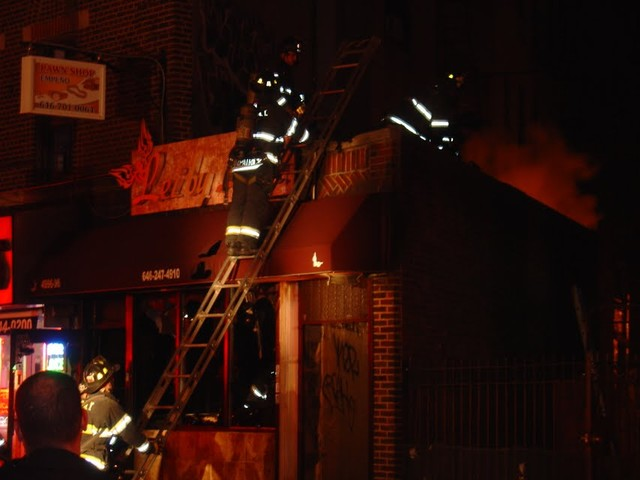 A family of three was left homeless on Thursday night, because of the fire.