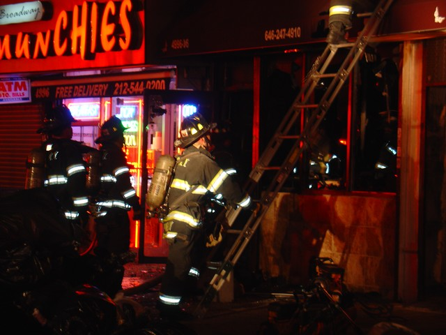 After the fire was put out, all that remained at clothing and accessories store Lei by Lisa, was shattered glass, charred clothing and a decimated storefront.