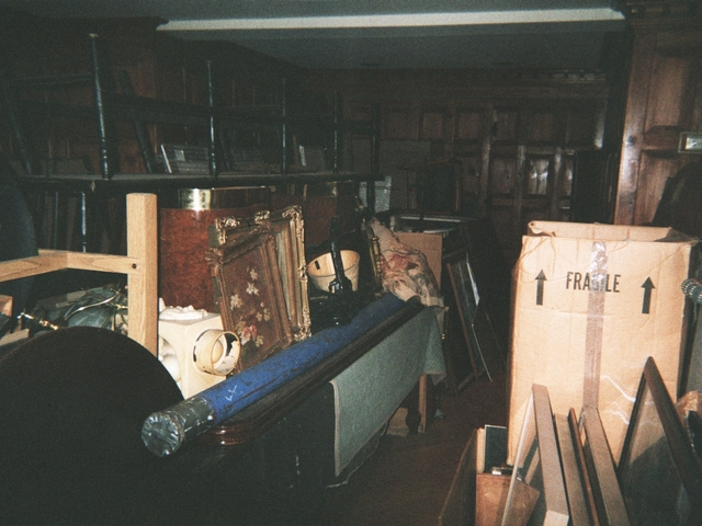 An apartment in the National Arts Club allegedly being used by board president Aldon James in December 2010.