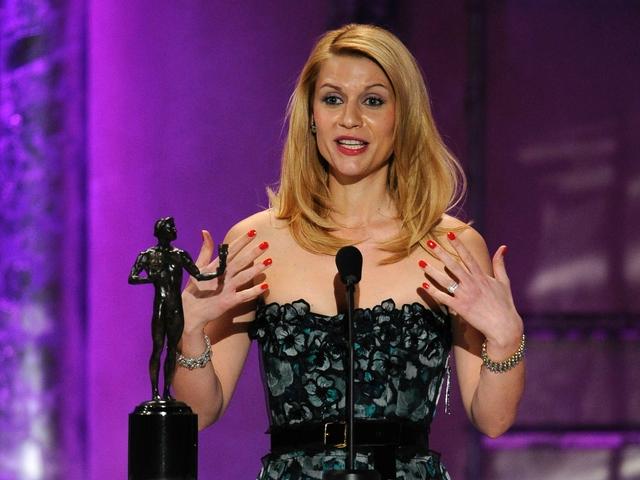 SAG Awards Claire Danes