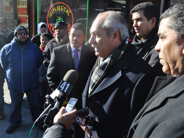 Assemblyman Guillermo Linares said he wants to see crime reduced in Washington Heights and Inwood.