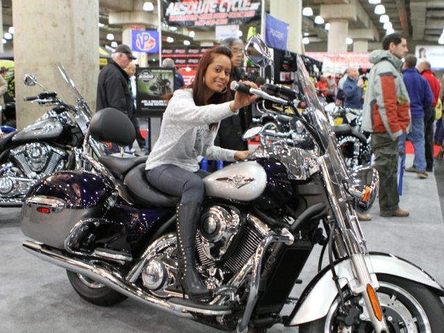 Posted in Events | Tagged New York Javits Center Motorcycle Show,