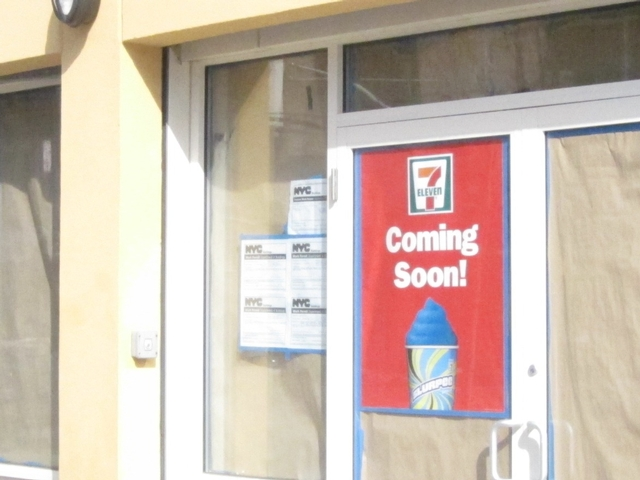 Inwood Dreams of Slurpees on Twitter After Sign Announcing 7-11's Arrival