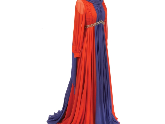 Sarmi Evening Dress. Estimate: $100 - 150