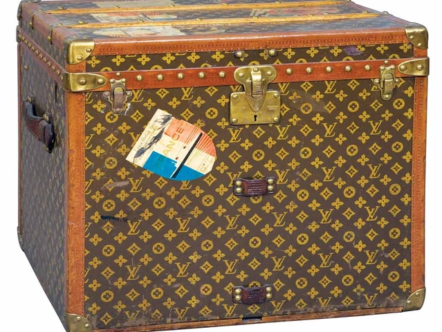 Louis Vuitton Small Trunk estimate: $500 - 700