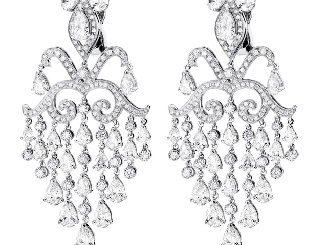OC Tales arabesques White Gold, and White Diamonds $134,680