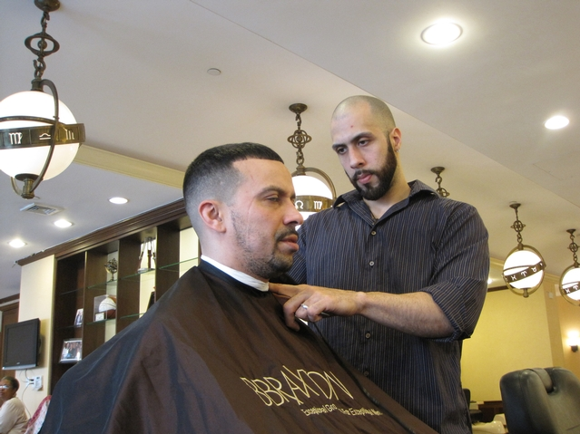 Upscale Harlem Barbershop and Salon Re-Opens