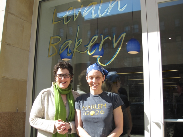 Levain co-owners Connie McDonald and Pamela Weekes.