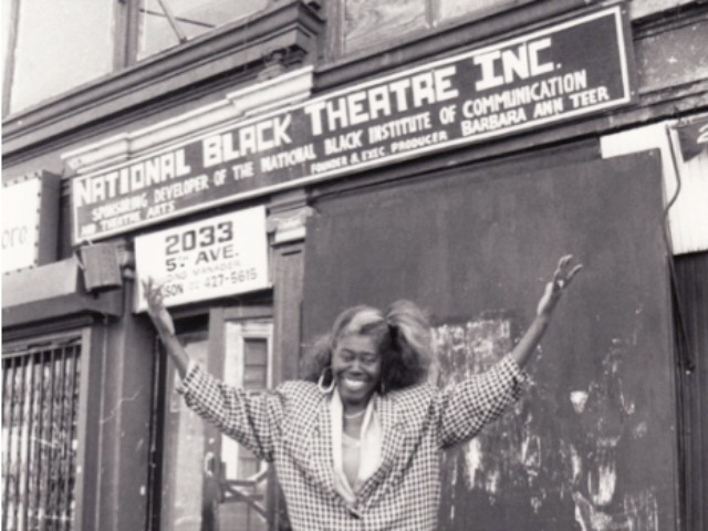 Harlem National Black Theater Founder