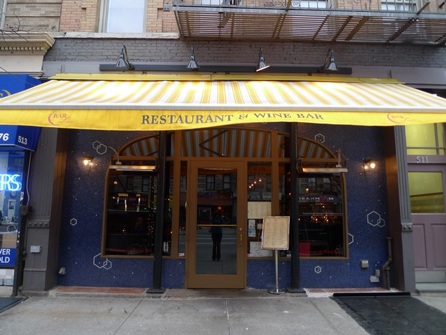 Bar Luna on Amsterdam Avenue and West 85th Street is one of several wine bars that have opened on the Upper West Side in the last couple of years.