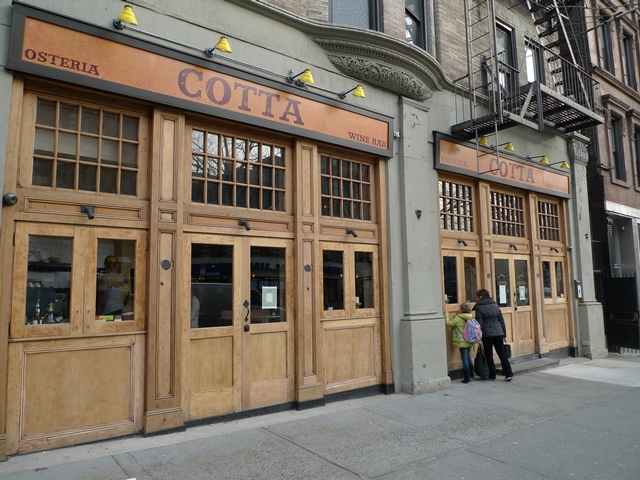 Osteria Cotta on Columbus Avenue and West 84th Street is the latest on a growing list of Upper West Side wine bars.