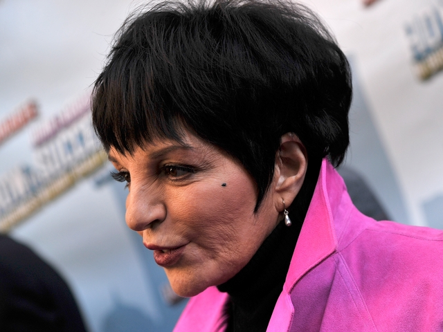 Liza Minnelli also attended the opening.
