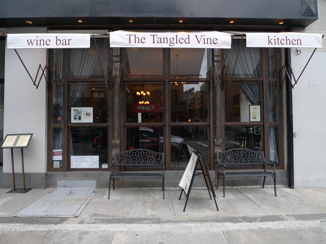 The Tangled Vine on Amsterdam Avenue and West 81st Street is one of several wine bars to open on the Upper West Side in the last two years.