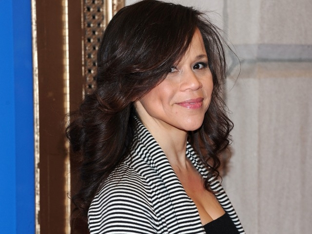 Comedic actress Rosie Perez attended opening night of