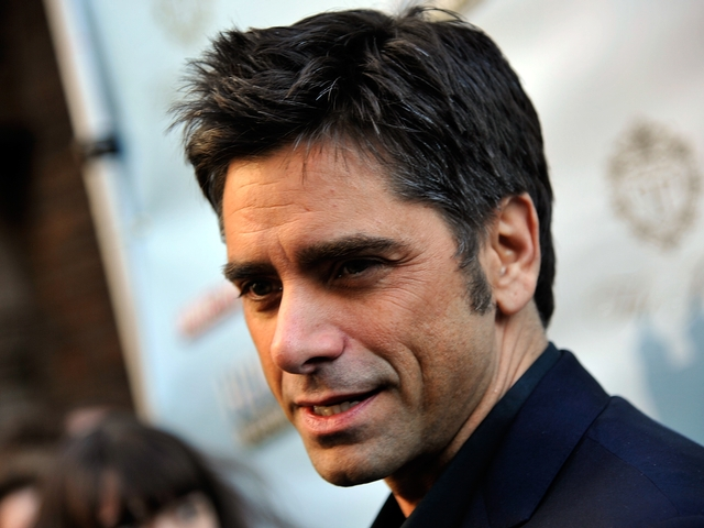 John Stamos at the afterparty.