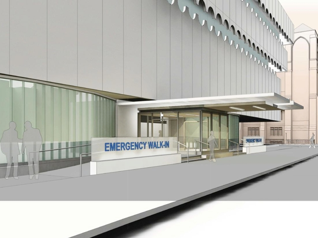 A rendering of the proposed