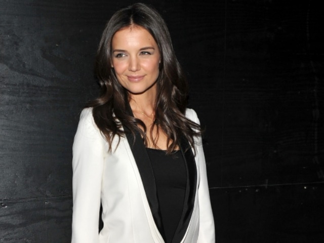 Actress Katie Holmes attended the Midtown premiere of