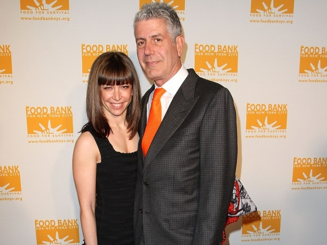 Celebrity chef Anthony Bourdain and Ottavia Busia attended the 2011 Can-Do Awards Dinner at Chelsea Piers on Thursday.