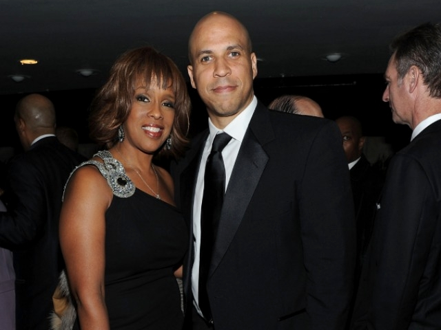 Oprah Winfrey BFF Gayle King and Newark mayor Cory Booker turned out for a performance by Eric Clapton and Wynton Marsalis at Jazz at Lincoln Center.