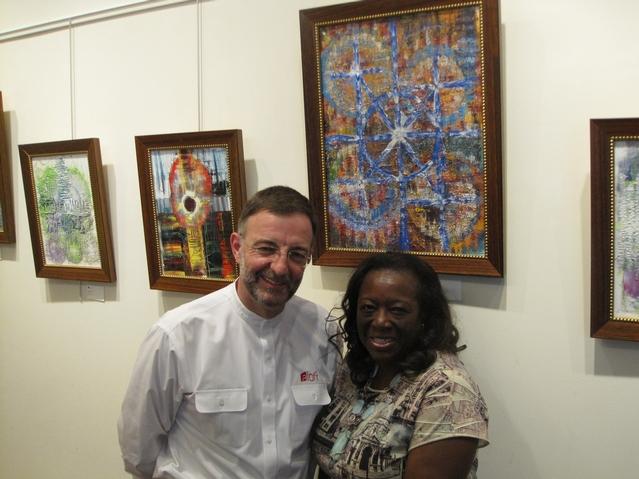 President of 125th Street BID is an Artist at Heart