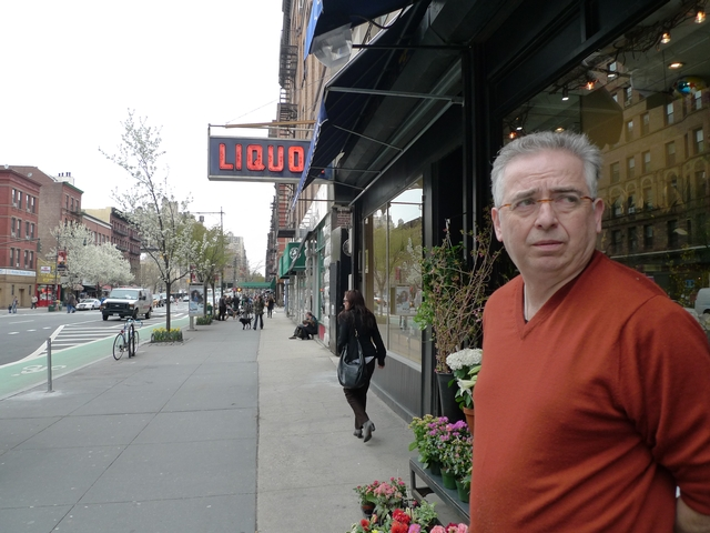 Nick Bazas, owner of Quality Florist on Columbus Avenue, has received six $65 tickets for failure to pay a muni meter, but he wasn't parked in a muni meter spot.