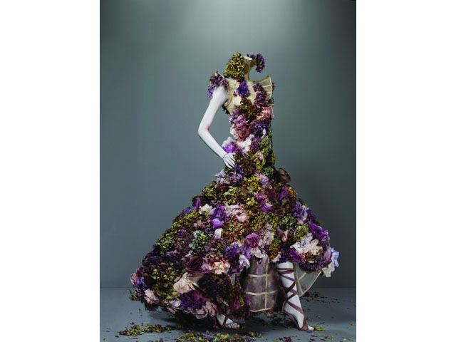Alexander McQueen (British, 1969-2010)  Dress, Sarabande, spring/summer 2007