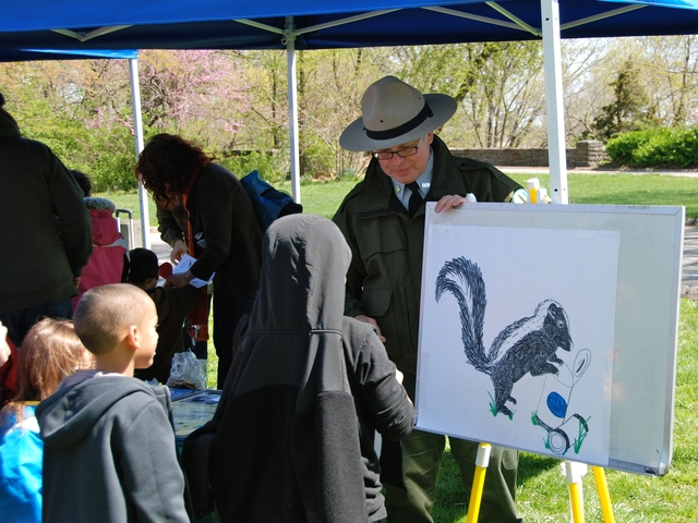 Rangers will teach kids about all sort of urban wildlife.
