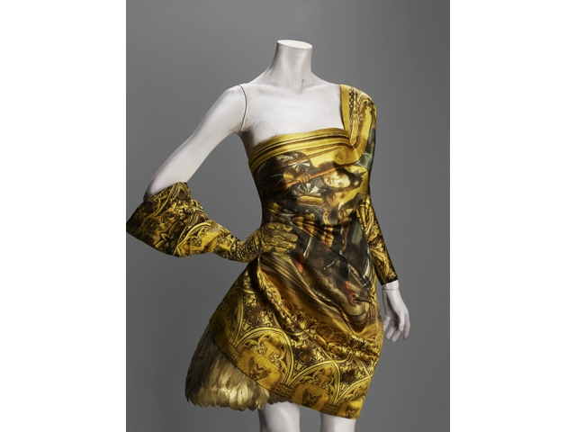 Alexander McQueen (British, 1969-2010)  Dress, autumn/winter 2010–11.