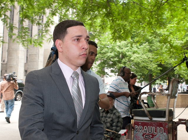 Franklin Mata, 29, leaves Manhattan Supreme Court after a jury acquitted him of rape and other charges.
