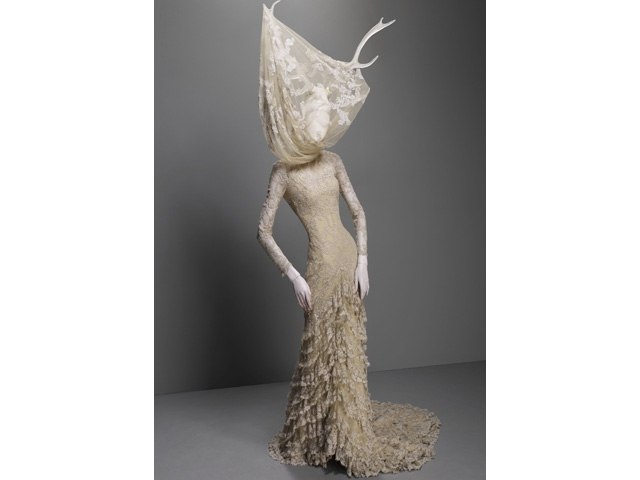 Alexander McQueen (British, 1969-2010)  Dress, Widows of Culloden, autumn/winter 2006–7.