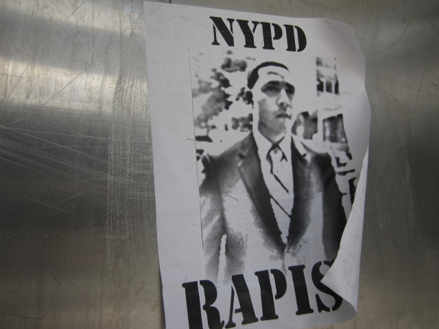 A flyer showing Franklin Mata, who was found not guilty of rape.