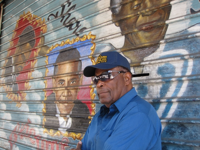 Artist Wants to Preserve Harlem Murals Painted on Security Gates