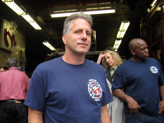 FDNY Lt. Brian Forsyth called Mayor Bloomberg's proposal