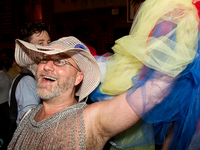 The passage of the gay marriage bill brought joy to revelers outside the Stonewall Inn.