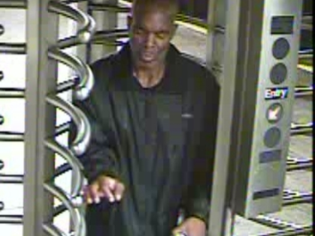 Police are looking for this man in connection with a series of Manhattan robberies between June 10 and June 23.