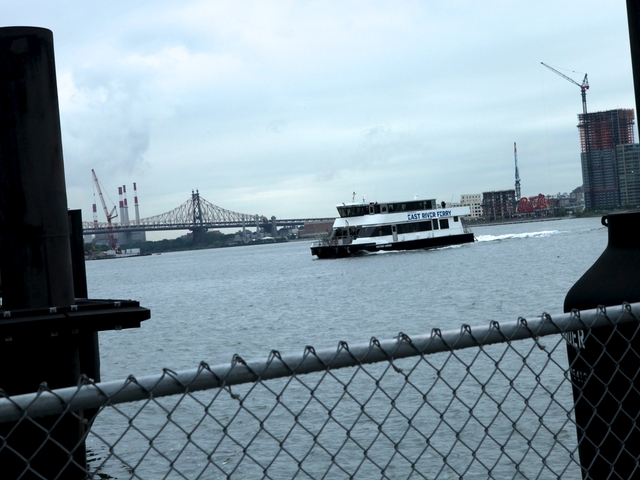 Newly expanded East River ferry service launched Monday.